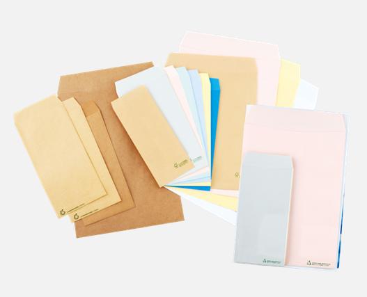 環境対応封筒の製品イメージ