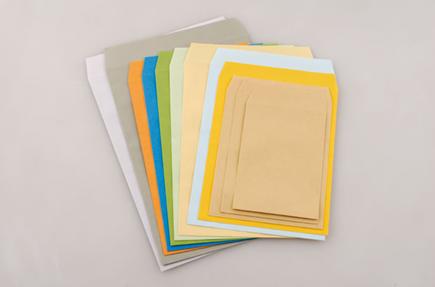 角形封筒の製品イメージ