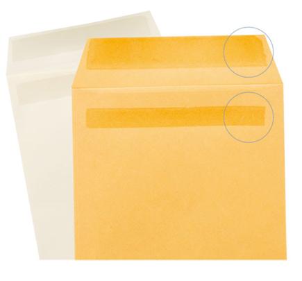 アドヘヤ糊付け加工封筒のイメージ画像